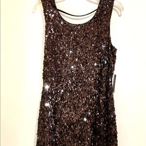 NWT Gorgeous Sequins Party Dress